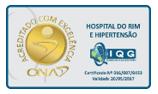certificação ona - hospital do rim